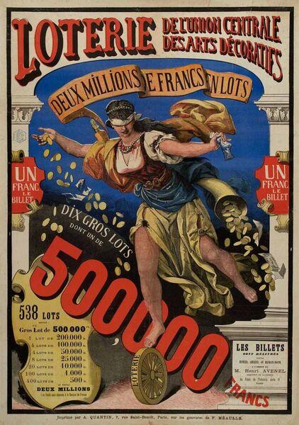 Loterie de l'Union Centrale des Arts Décoratifs
