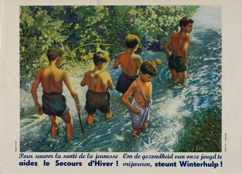 Pour sauver la santé de la jeunesse aidez le Secours d'Hiver ! Om de gezondheid van onze jeugd te vrijwaren, steunt Winterhulp !