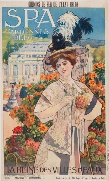 """Spa """"Ardennes belges"""". La Reine des Villes d'Eaux"""