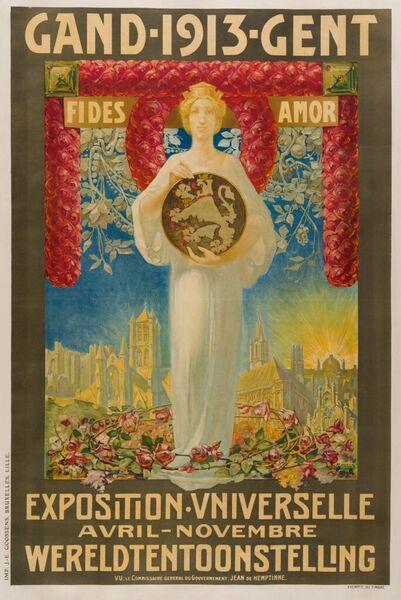 1913 - Gent. Wereldtentoonstelling