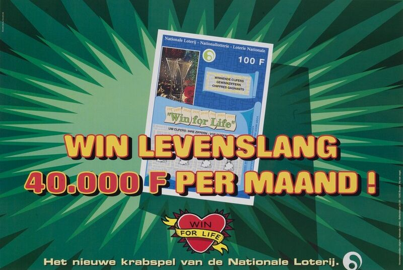 Win levenslang 40.000 F per maand!
