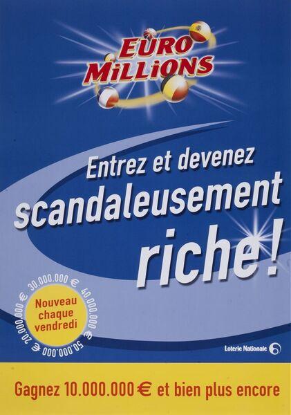 Entrez et devenez scandaleusement riche! Gagnez 10.000.000 € et bien plus encore
