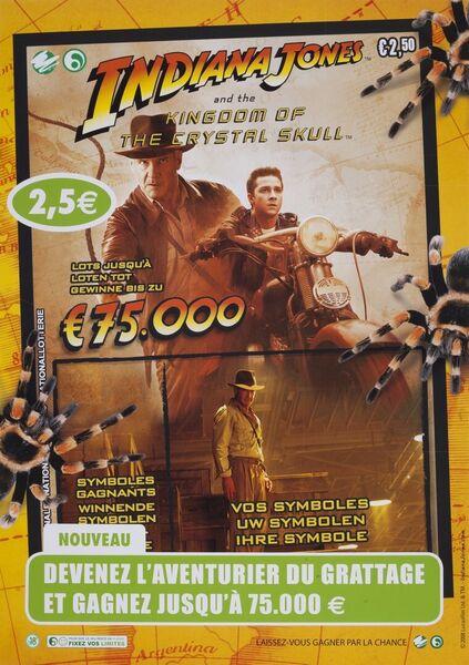 Devenez l'aventurier du grattage et gagnez jusqu'à 75.000 €