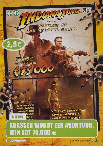 Krassen wordt een avontuur. Win tot 75.000 €