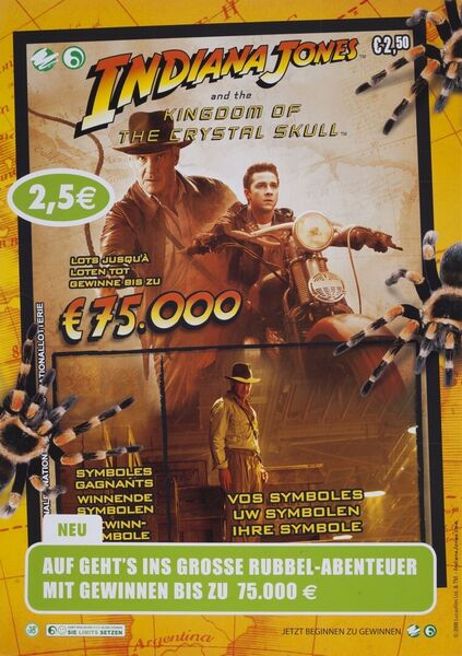 Auf geht's ins grosse Rubbel-Abenteuer mit Gewinnen bis zu 75.000 €
