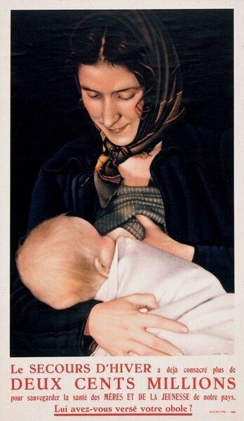 Le Secours d'Hiver a déjà consacré plus de deux cents millions pour sauvegarder la santé des mères et de la jeunesse de notre pays. Lui avez-vous versé votre obole?