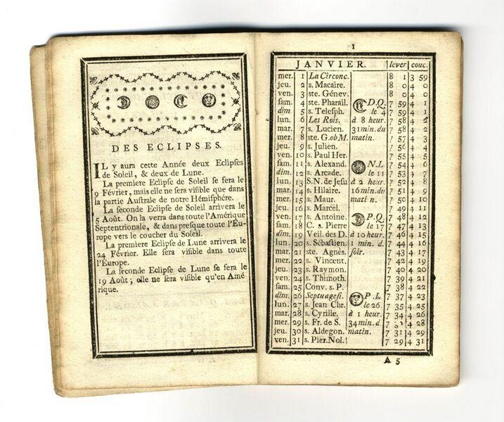 Almanach utile et agréable de la Loterie Impériale et Royale pour l'année 1766, Bruxelles, Imprimerie de la Loterie Impériale et Royale, 1766, in-24, 54 p.