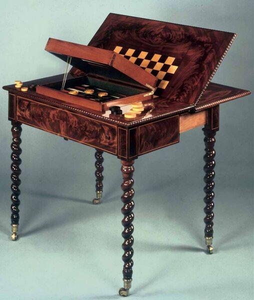 Table de jeu Arlequin