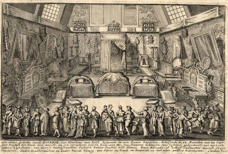 De loterij van Henricus van Soest te Antwerpen. Een ander gedeelte vande Loterye van Henricus van Soest ...