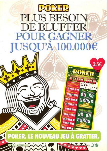 Poker. Plus besoin de bluffer pour gagner jusqu'à 100.000 €