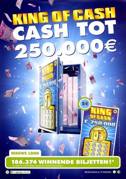 King of Cash. Cash tot 250.000 €