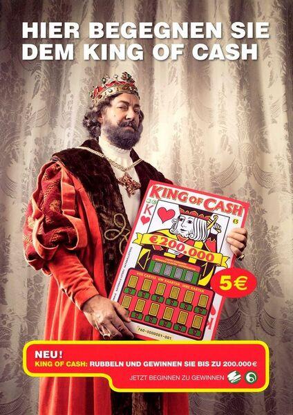 Hier begegnen Sie dem King of Cash